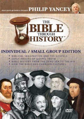 The Bible Through History: Scholar/Pastor Edition (5 DVDs)  -     By: Phillip Yancey, John Stonestreet