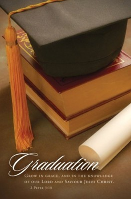 Graduation (2 Peter 3:18) Bulletins, 100   -