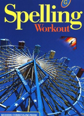 Spelling Workout 2001/2002 Level G Student Edition   -
