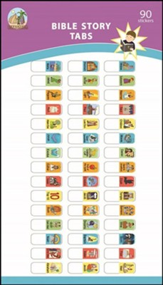 Bible Story Tabs, Set of 90   -