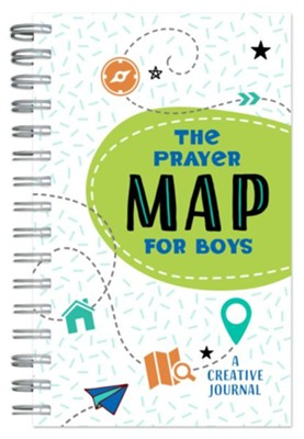 Prayer Map for Boys: A Creative Journal  -     By: Compiled by Barbour Staff