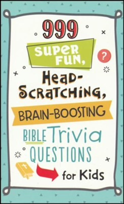 999 Super Fun, Head-Scratching, Brain-Boosting Bible Trivia Questions for Kids  -     By: JoAnne Simmons