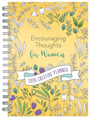 2019 Creative Planner Encouraging Thoughts for Women  -     By: Kathy Shutt