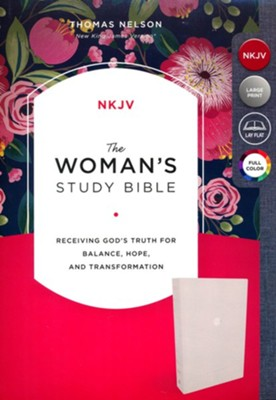 NKJV Woman's Study Bible--cloth over board, cream  -     Edited By: Dorothy Kelley Patterson, Rhonda Harrington Kelley