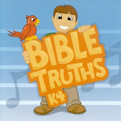 BJU K4 Bible Truths Audio CD Second Edition   -