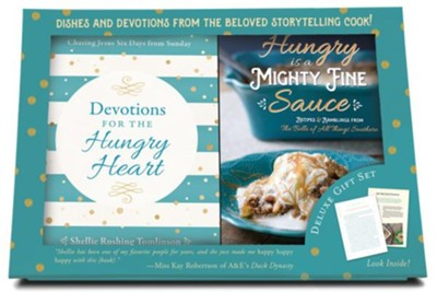 Devotions for the Hungry Heart - Boxed Set  -     By: Shellie Rushing Tomlinson