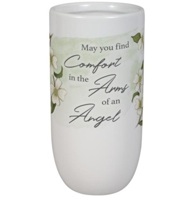 Arms of an Angel Bereavement Vase  -