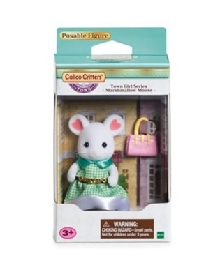 Stephanie Marshmallow Mouse Calico Critters Town Girl Series