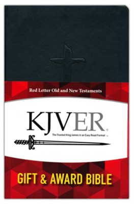 KJVER Gift and Award Thinline Personal Size, imitation leather, black  -