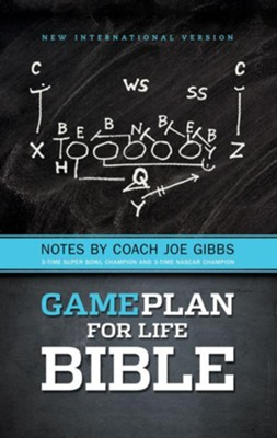The Game Plan for Life Bible, NIV: Notes by Joe Gibbs / Special edition - eBook  -     By: Joe Gibbs