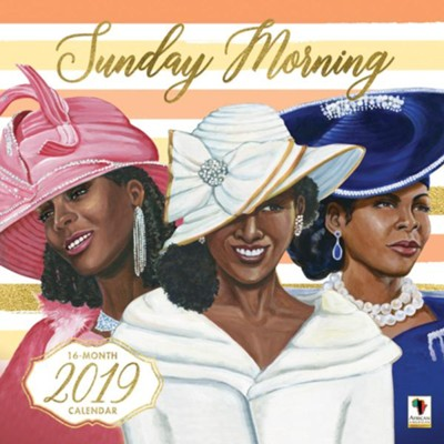 2019 Sunday Morning Wall Calendar  -     By: Keith Conner