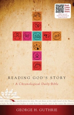 HCSB Reading God's Story: A Chronological Daily Bible - eBook   -