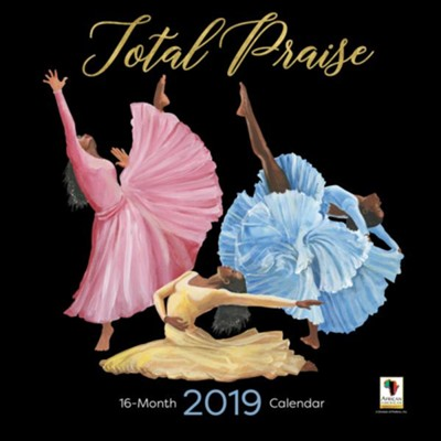 2019 Total Praise Wall Calendar  -     By: Keith Conner
