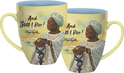 And Still I Rise Mug  -     By: Keith Conner