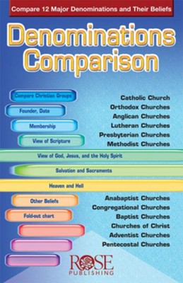 Denominations Comparison, Pamphlet - eBook   -     By: Robert Bowman