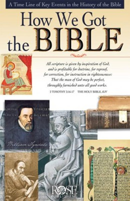 How We Got The Bible - eBook  -     By: Rose Publishing