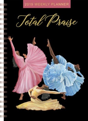 2019 Total Praise Weekly Planner  -     By: Keith Conner