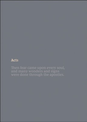 Acts, NKJV Scripture Journal  -