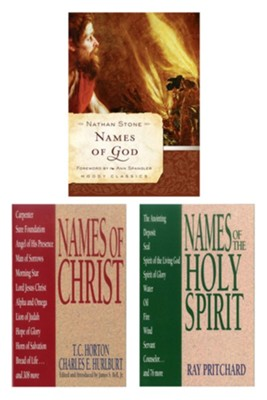 Names of God/Names of Christ/Names of the Holy Spirit Set - eBook  -     By: Nathan Stone, T.C. Horton, Charles E. Hurlburt