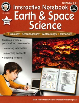 Interactive Notebook: Earth & Space Science, Grades 5 - 8  -     By: Schyrlet Cameron, Carolyn Craig