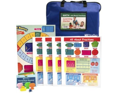 All About Fractions Learning Center Game (Grades 3-6)   -