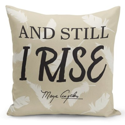 And Still I Rise Pillow Cover  -