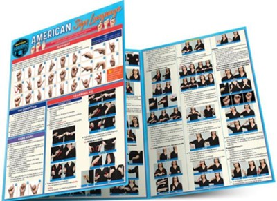 American Sign Language Chart   -