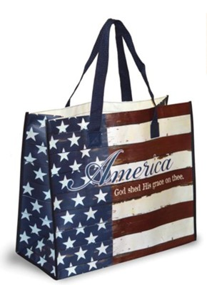 America, God Shed His Grace On Thee Tote Bag  -