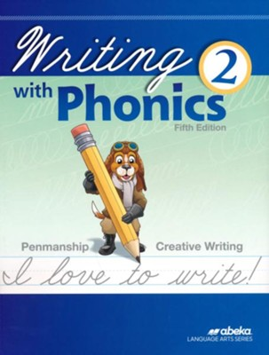 Writing with Phonics 2 (Cursive; Unbound 5th Edition)   -