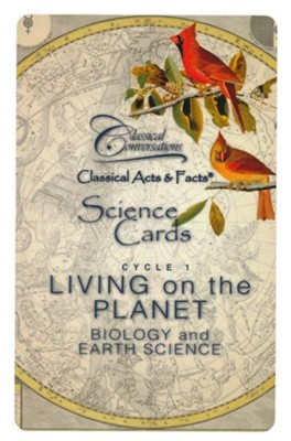 Classical Acts & Facts Science Cards: Biology & Earth Science (2nd Edition)  -