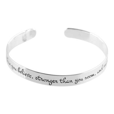 You Re Braver Than Believe Cuff Bracelet