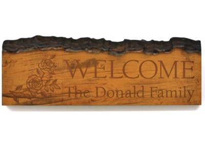Personalized, Barky Stick, Welcome, Large   -