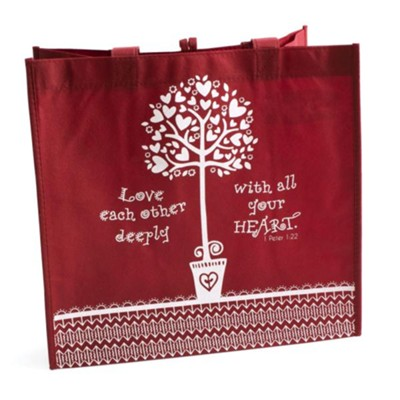 Love Each Other, Eco Tote Bag    -