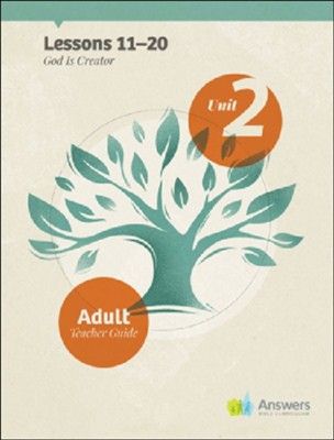 Answers Bible Curriculum Adults Unit 2 Teacher Guide (2nd Edition)  -