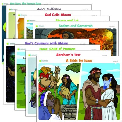 Answers Bible Curriculum Grades 2-5 Unit 4 Lesson Theme Posters (2nd Edition)  -
