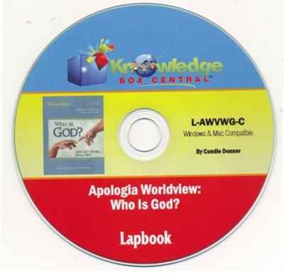 Apologia's Worldview/Bible: Who is God? Lapbook PDF CD-ROM  -     By: Candie Donner