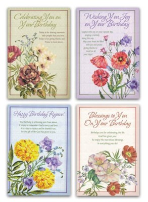 Bless Your Day, Birthday Cards, Box of 12  -