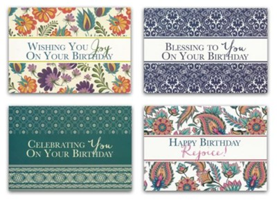 Blessings, Birthday Cards, Box of 12  -