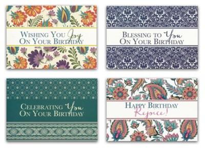 Blessings Birthday Cards KJV Box Of 12