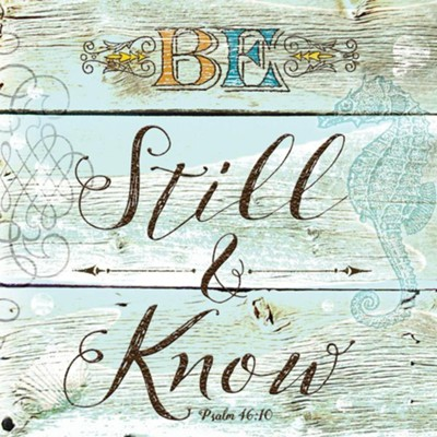 Be Still Napkins, Pack of 20  -