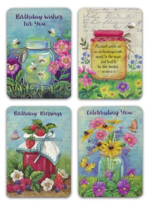 Joyful Blessings Birthday Cards Box Of 12Joyful