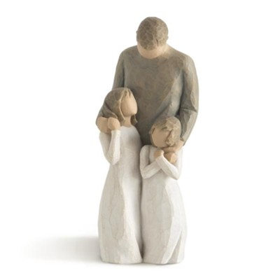 Willow Tree Figurine My Girls    -     By: Susan Lordi