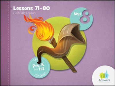 Answers Bible Curriculum PreK-1 Unit 8 Flip Chart (2nd Edition)  -