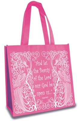 Beauty, Eco Tote, Pink  -