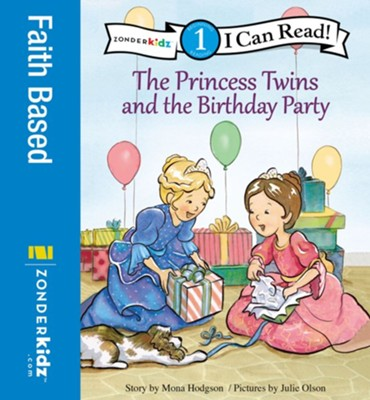 The Princess Twins and the Birthday Party - eBook  -     By: Mona Hodgson     Illustrated By: Red Hansen