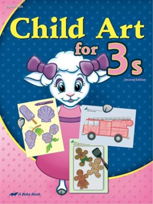 Child Art for 3s (Unbound Edition)   -