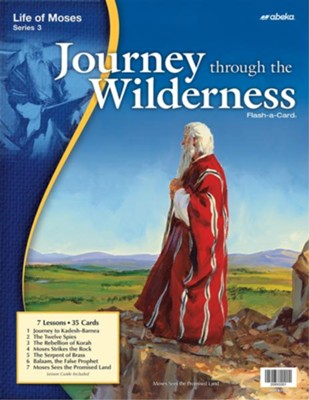 Journey Through the Wilderness Flash-a-Card   -
