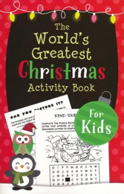 The World's Greatest Christmas Activity Book for Kids   -     By: Ken Save