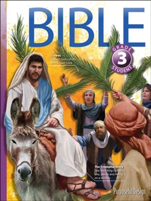 Bible: Grade 3 Student Textbook (3rd Edition)   -