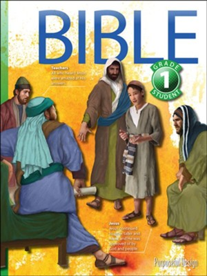 Bible: Grade 1 Student Textbook (3rd Edition)   -